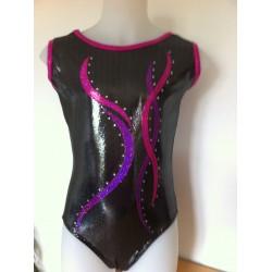 CLEMENCE noir fushia violet f62e4214a2a
